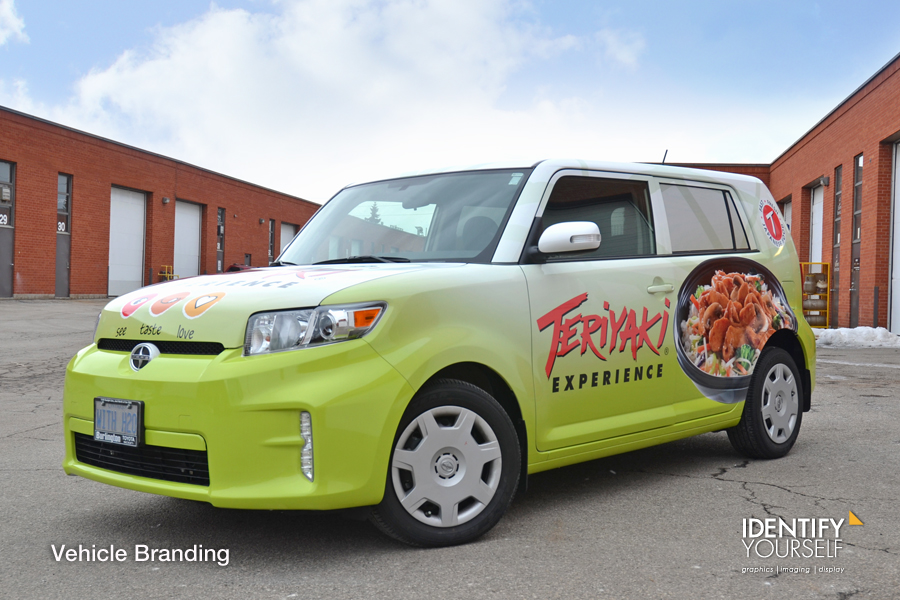 IDY Vehicle Wraps_Teriyaki Experience
