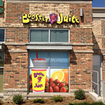 Booster Juice Window Graphics and Store Front
