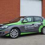 Critical Path Car Wrap by Identify Yourself.ca