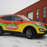 Pizza Pizza Fleet Wrap SUV by Identify Yourself.ca