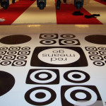 Mall Floor Graphic by Identify Yourself.ca