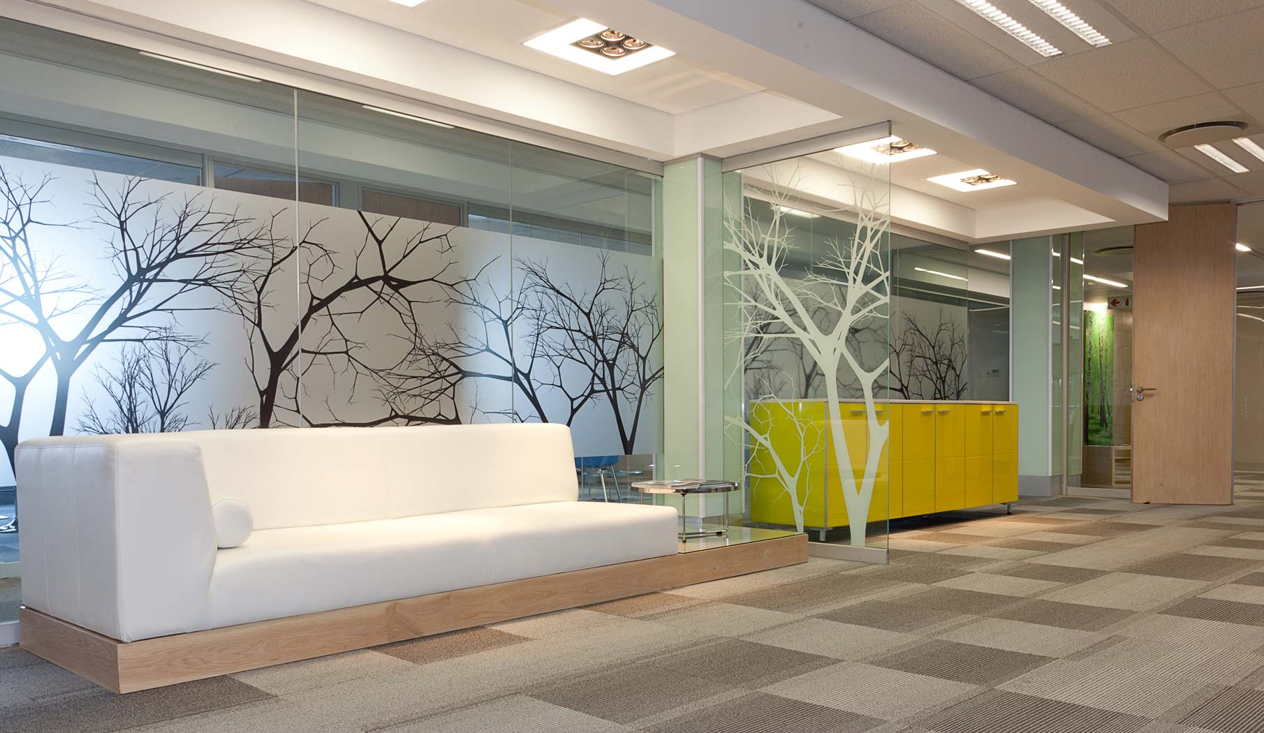 Idy commercial branding for Office window design