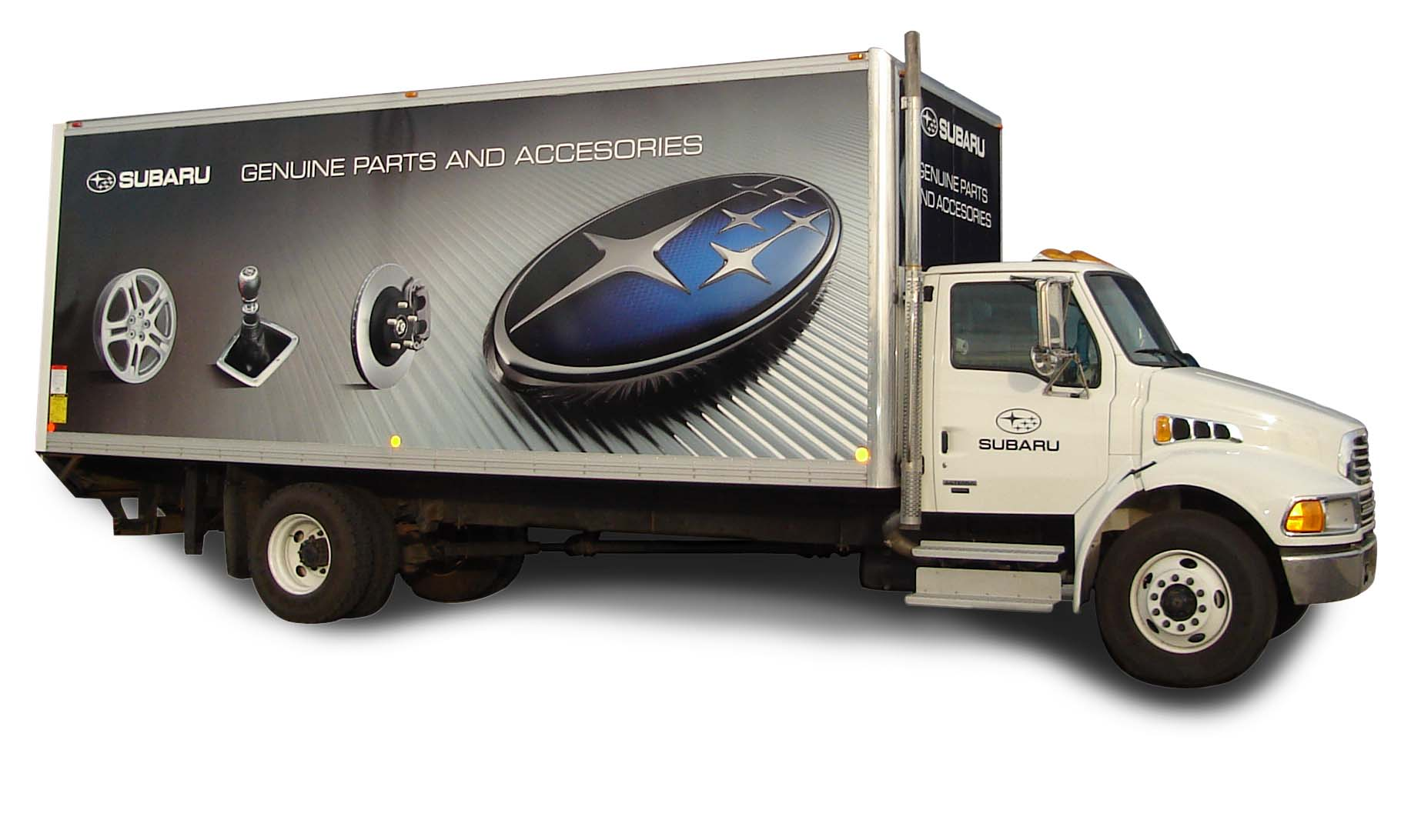 Subaru Truck Wrap