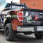 Canadian Tire Truck Wrap by Identify Yourself.ca