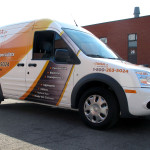 IHSA Van Wrap by Identify Yourself.ca