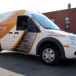 IHSA Van Wrap by Identify Yourself.ca
