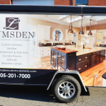 Lumsden Utility Trailer Wrap by Identify Yourself.ca