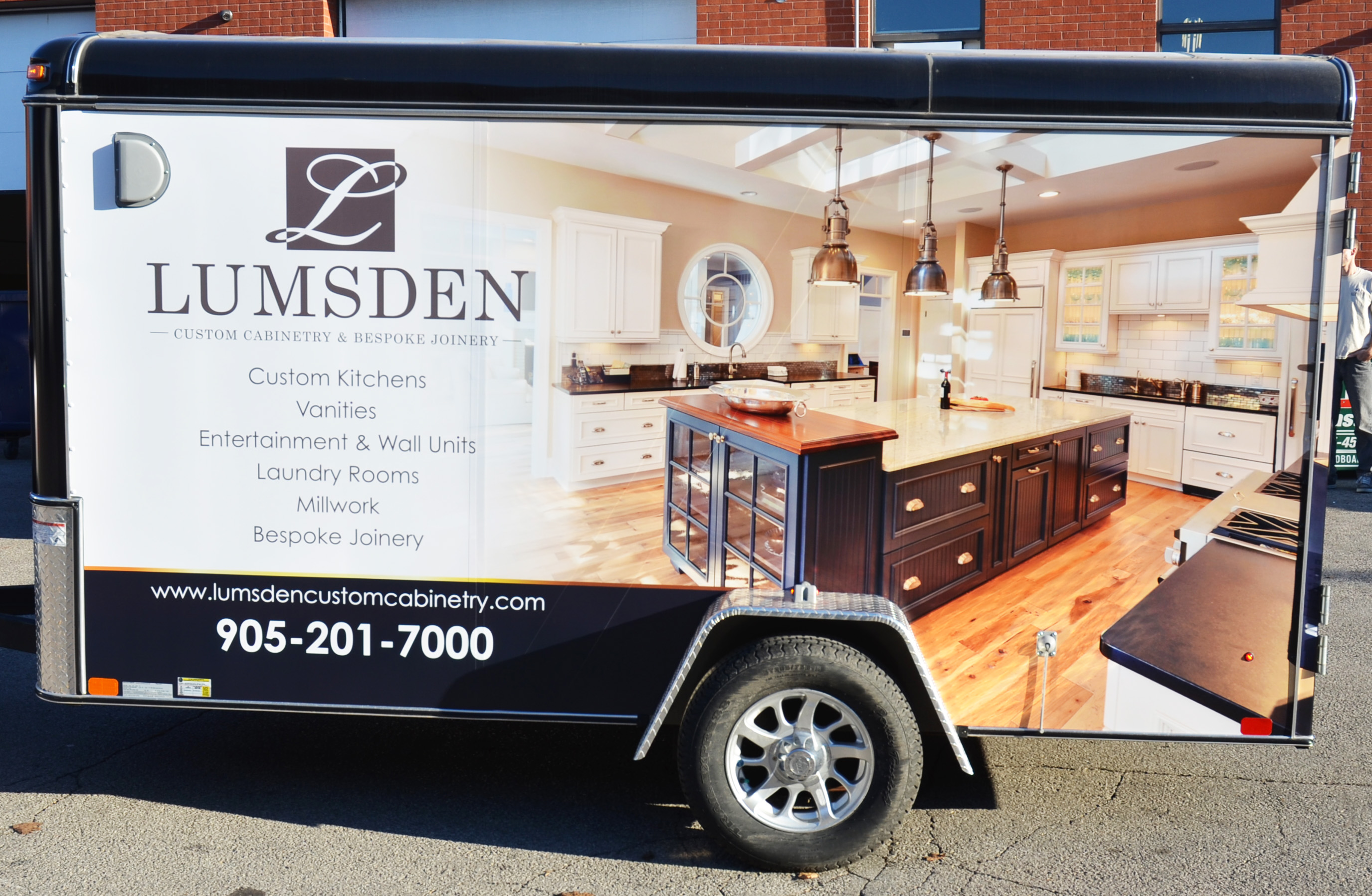 5 benefits of branding with business vehicle wraps identifyyourself lumsden utility trailer wrap by identify yourself solutioingenieria Choice Image